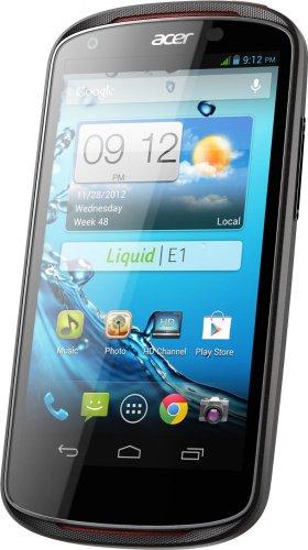 Acer Liquid E1 Dual-Sim Smartphone mit Android 4.1, 4,5 Zoll, 1Ghz Dual Core, 1GB RAM, 5MP für 124,41 € @Amazon.fr