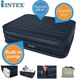 Intex Queen Downy für 39€ @iBOOD - Zwei-Personen Luftbett inkl. Pumpe