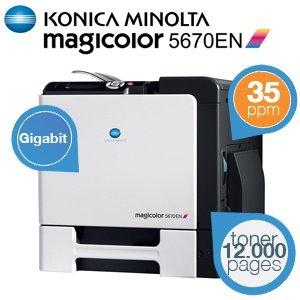 Konica Minolta Magicolor 5670EN High-Performance A4 Laser Drucker @iBood