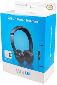 Nintendo™ - Wii U Stereo Chat Headset (Black) für €10,41 [@Game.co.uk]