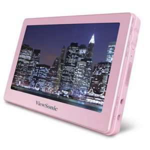 ViewSonic 4.3 Portable Media Player 8GB - Pink@thehut.com