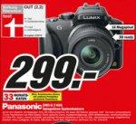 [lokal MM Essen] Panasonic DMC-G3 Systemkamera mit 14-42mm Objektiv 299 €
