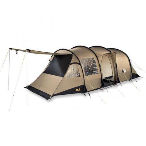 Jack Wolfskin Travel Lodge RT Luxus-Familienzelt für 549,95 € anstatt 899,95 € UPE bzw. 704,06 € idealo; outdoorshop.de