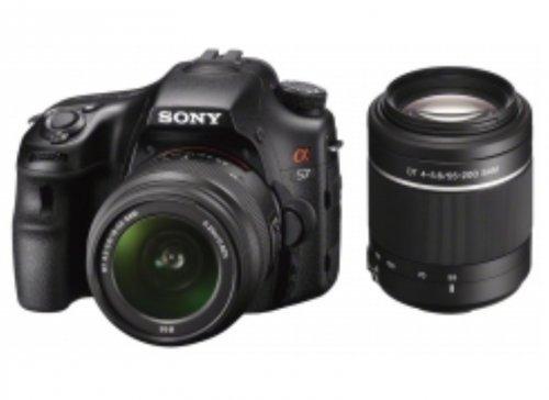 Sony SLT A57 mit 18-55-mm- & 55-200-Obj.