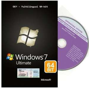 [Hitmeister.de] Windows 7 Ultimate 64 bit OEM Service Pack 1 für 44,20 Euro inkl. Versand