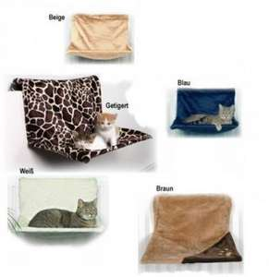 Katzen Liegemulde verschiedene Farben