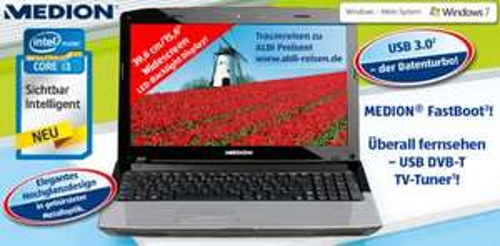 Aldi Süd: Medion Notebook AKOYA E6224
