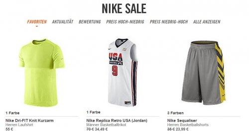 Nike Store Sommer Sale bis -50% >> mit Qipu jetzt -7%