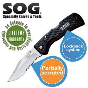 SOG Outdoor Messer Magnadot S301 für 14,95€ + 5,95€ Versand @ibood