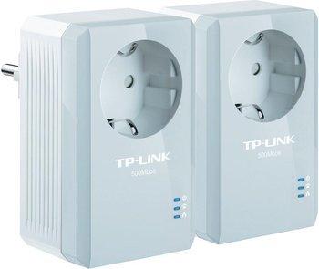 TP-LINK AV500 Nano Pass Through Powerline Adapter Starter Kit für 40€ @Cyberport