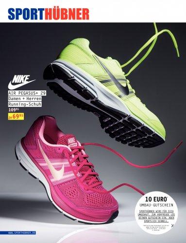 [Lokal] Nike Air Pegasus+ 29 (Damen und Herren) Running-Schuh - Testnote: 1,5 - mit Gutschein für 59,95€