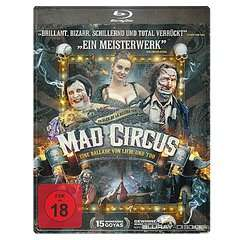 MM Online - Mad Circus - Eine Ballade von Liebe und Tod (Steelbook Edition) FSK 18 Blu-ray VKF