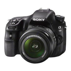 Sony Alpha 58 Kit 18-55mm  für 382,99 € @notebooksbilliger.de