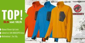 """Mammut ultimate light"" Softshelljacke für 94,95€"