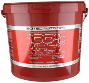 Scitec Nutrition 100% Whey Protein Professional, 5 kg Eimer, 5000g - Karamell