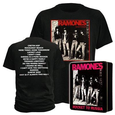 Ramones oder Guns N Roses T-Shirts in Alubox  für je 9,99€ @ Ebay