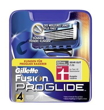 Gillette Fusion Proglide, 4 Klingen