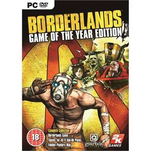 Borderlands Game of the Year Edition bei G2Play