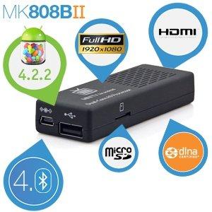 Rikomagic MK808B mini PC Android 4.2 1024MB DDR 8GB für 59,95€ + 5,95€ Versand @iBOOD
