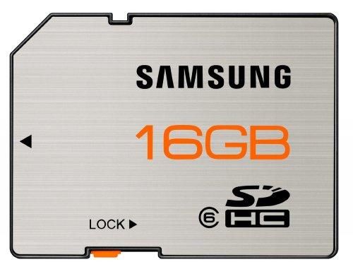 Speicherkarte Samsung SDHC 16 GB Class 6 für nur 7,50 EUR inkl. Versand