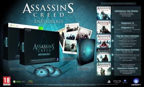 Assassins Creed Anthology PS3/Xbox 360 für 56,63 € @amazon.co.uk