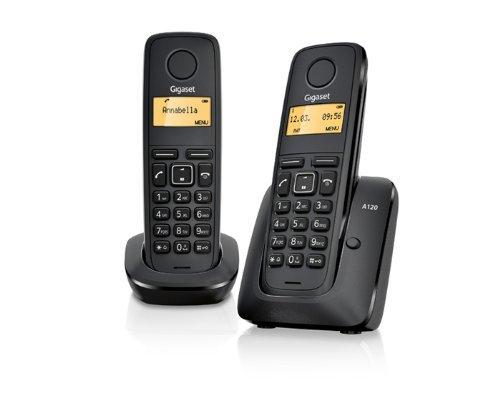 Gigaset A120 DUO Schnurlostelefon mit 2. Handteil zu 16,95€ inkl. @ Amazon Händler (2)