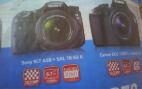 [lokal Saarbrücken] [offline] Sony SLT Alpha A58 SAL 18-55mm Kit für 379 EUR