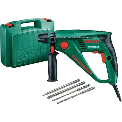 [conrad] Bohrhammer Bosch PBH 2000 RE 550 W + Koffer + Bohrer-Set für 60,-- bis 74,--€