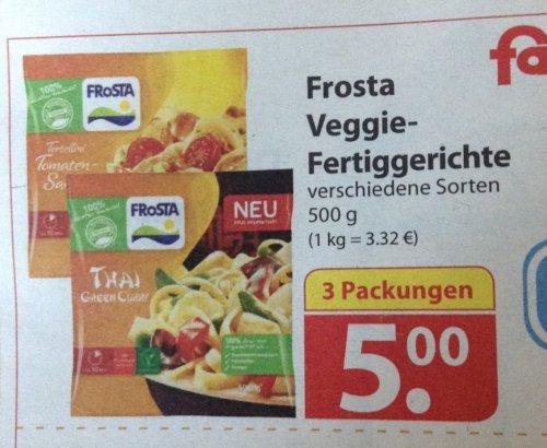Frosta Veggie- Fertiggerichte bei Famila Nord a 1,67 Euro (3 für 5 Euro)
