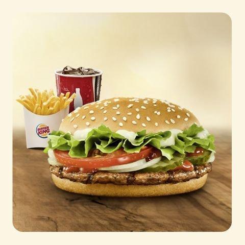 [Lokal] 1 € - Komplettes Menü im Burger King Landau Pfalz und Neustadt