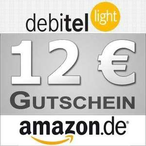 debitel-light *EDIT: Pseudo-Prepaid* SIM mit 10 € Startguthaben + 12 € amazon-Gutschein