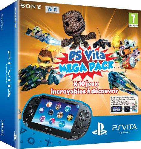 [Amazon.fr] Playstation Vita (Wifi) Mega Pack 1 ( 8GB-SD + 10 Spiele )