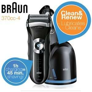 [ibood] Braun 370cc-4 Series Rasierer mit Clean & Renew Station