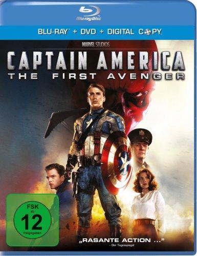 Captain America - The First Avenger (+ DVD) [Blu-ray] für 7,75 € [Amazon.de]