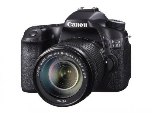 Canon EOS 70D mit 18-135STM für 1249.- statt 1449.- Notebooksbilliger Vorbestellung