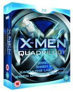 Blu-ray : X-Men Quadrilogy (Teil 1-4) für 18,73EUR inkl. Versand