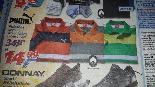 Puma Polos versch. Farben S-XXL @ Real Bundesweit