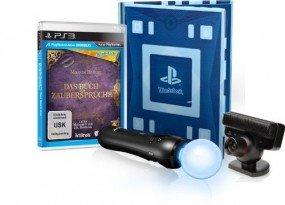 Sony PlayStation Move Starter Pack mit Wonderbook: Das Buch der Zaubersprüche