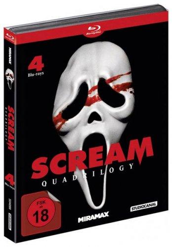 Scream Quadrilogy (Blu-ray) ohne Vsk für 20,90 € [Media-Dealer.de]
