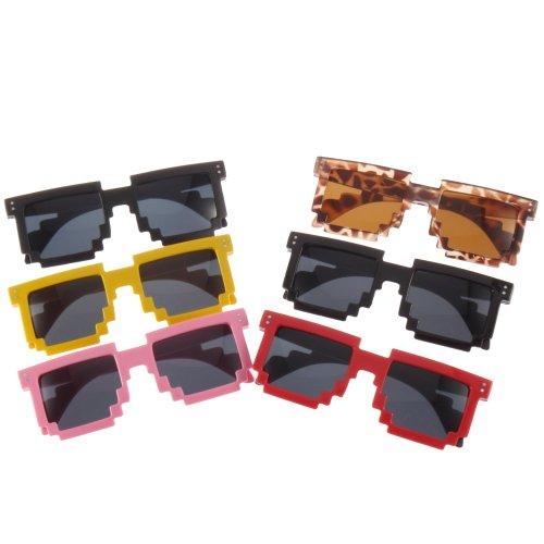 Sonnenbrille Mosaic/Pixel-Style bei eBay - 1,25€ inkl.!