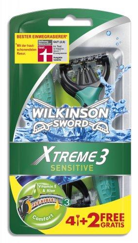 [K+K] Wilkinson Xtreme 3 Sensitive 4+4 Einwegrasierer