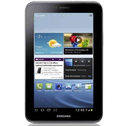 Samsung Galaxy Tab 2 7.0 16GB WiFi +3G [EU Ware] Tablet mit Android 4 in Titanium-silber