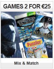 2 Games für 24,98€ @play.com (Auswahl aus 136 Games und Zubehör für alle aktuellen Systeme)