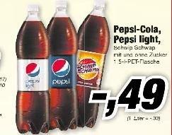 [Lokal  Lauf a.d.Pegnitz] Pepsi, Pepsi light, Schwip Schwap 0,49 € bei EWS