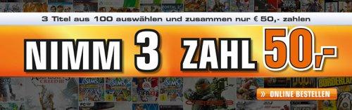 [Saturn Österreich] 3 Spiele für 50,00€ im Online Store keine Versandkosten und kein USK 18 Versand ;)
