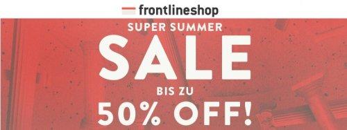 Frontlineshop bis zu 50% Sale im Onlineshop!