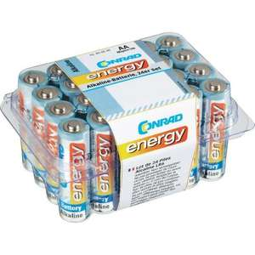 Conrad energy Alkaline Mignon-Batterien, 24er-Set als Füllartikel