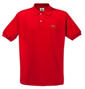 Lacoste Herren-Poloshirt - Uni Rot - Größe L - Nur 39,00€!