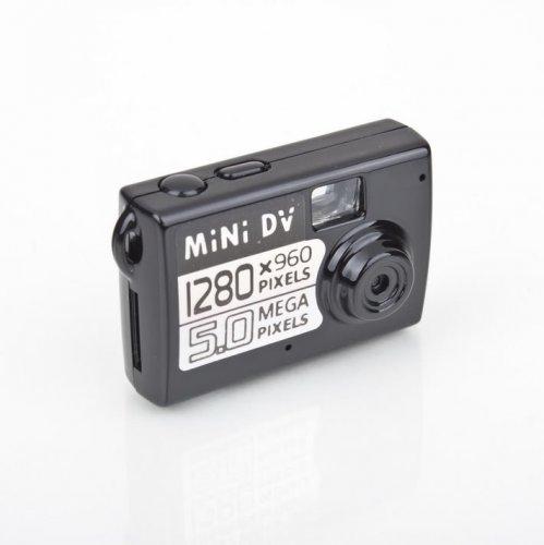 Mini DV Kamera, 5 Megapixel Fotos, 1280x960px Videos @ 30fps, Webcam-fähig