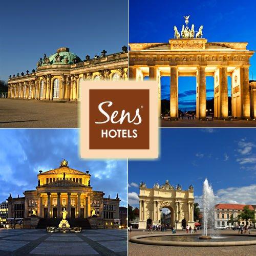 3 Tage (2ÜF) Sens Hotel nach Wahl in Berlin 2P / 3 Jahre Gültig bei eBay für 69,00 Euro